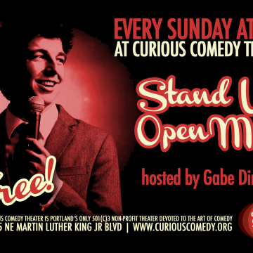 Curious Comedy Stand Up Open Mic