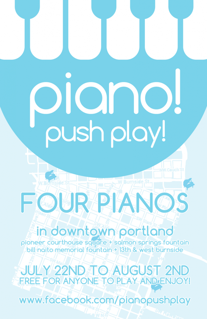 Piano! Push Play! Poster