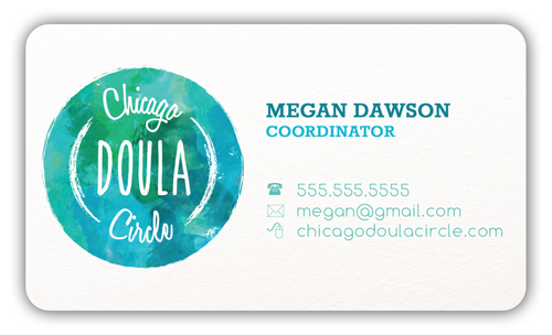 Chicago Doula Circle - Business Card