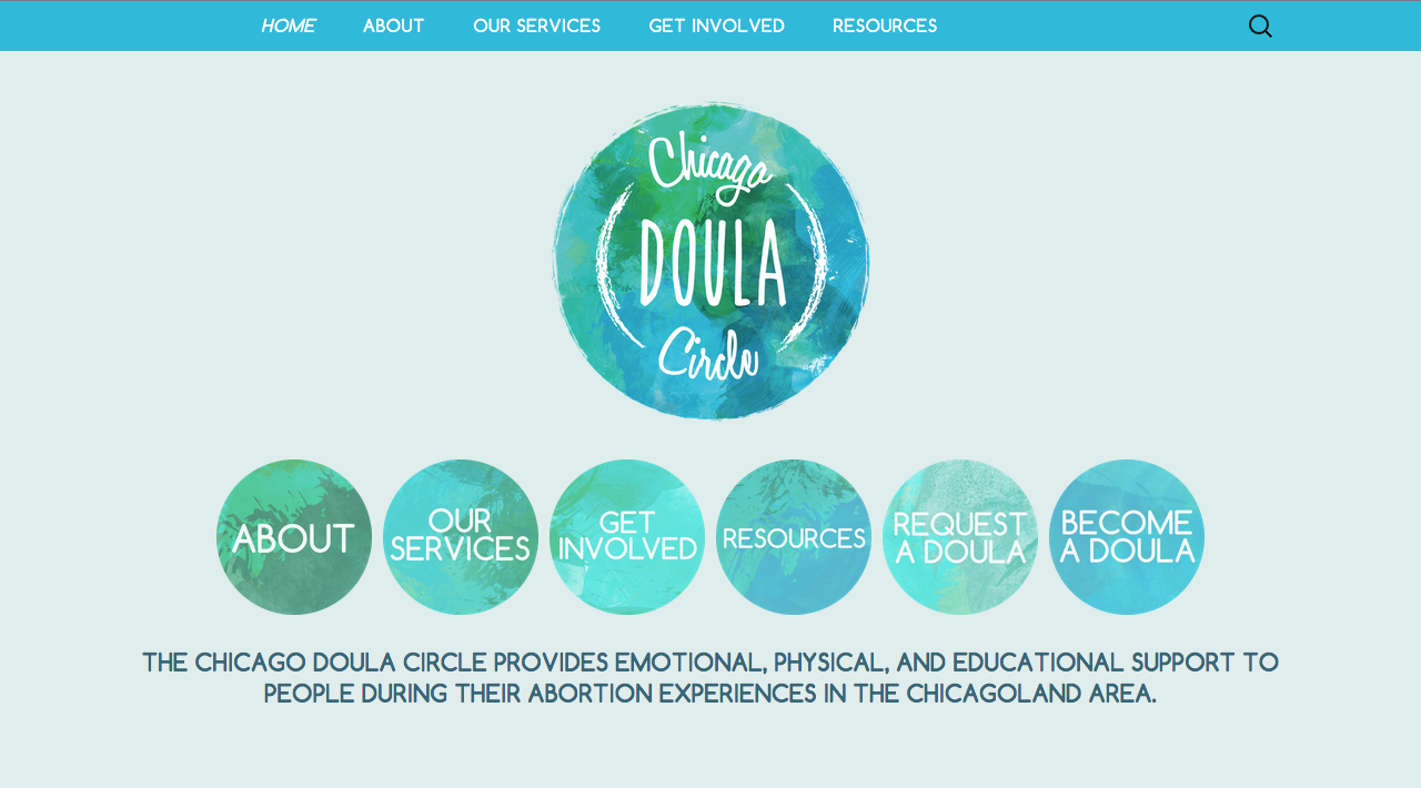 Chicago Doula Circle - Website