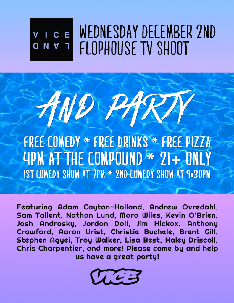 Denver Flophouse Invitation