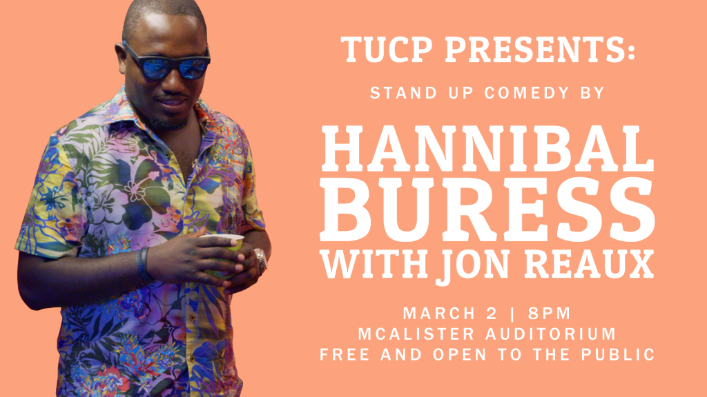 Hannibal Buress Mockup Flyer